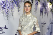 Bailee Madison Embroidered Dress
