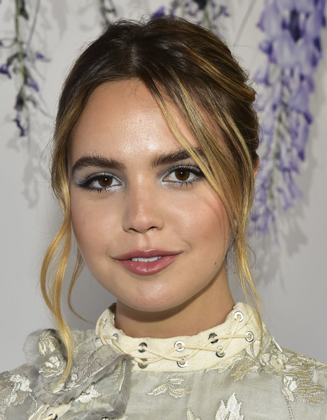 Bailee Madison Messy Updo