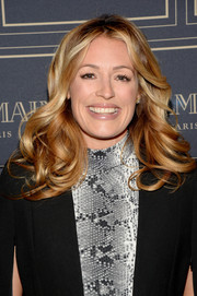Cat Deeley looked fab with her bouncy waves at the Balmain x H&M Los Angeles pre-launch.