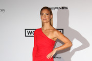 Bar Refaeli One Shoulder Dress