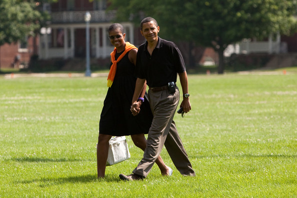 Barack Obama Polyurethane Sports Watch [grass,competition event,lawn,fun,tournament,recreation,sports training,player,team,sports,barack obama,president,michelle obama,mcnair,obama returns from camp david,afp out,u.s.,camp david,washington dc,holiday]