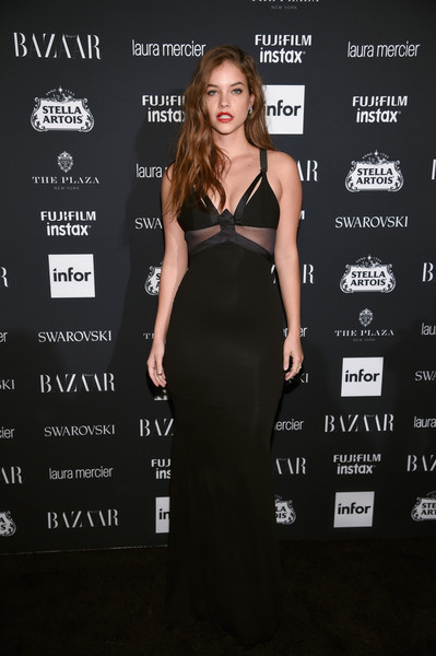Barbara Palvin Form-Fitting Dress