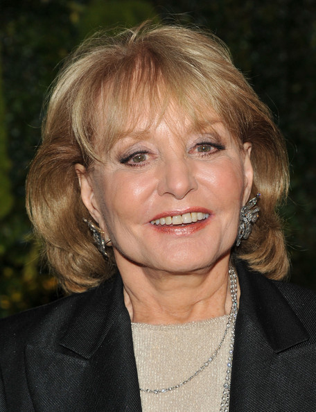 Barbara Walters Bob [hair,face,hairstyle,blond,chin,smile,lip,layered hair,feathered hair,surfer hair,barbara walters,benefit,garden,museum of modern art,new york city,moma party in the garden benefit - arrivals,party]