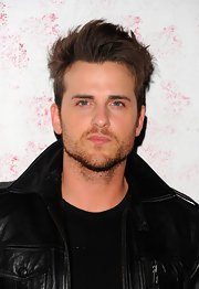 Jared Followill sported sky-high spikes during a celebration at Barneys New York.