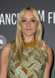 Chloe Sevigny opted for a simple center-parted 'do with just a hint of a wave when she attended the Sundance premiere of 'Beatriz at Dinner.'