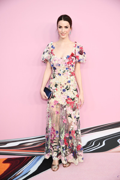 Bee Shaffer Embroidered Dress [fashion model,clothing,white,dress,fashion,shoulder,pink,fashion design,beauty,leg,arrivals,bee shaffer,cfda fashion awards,brooklyn museum of art,new york city]