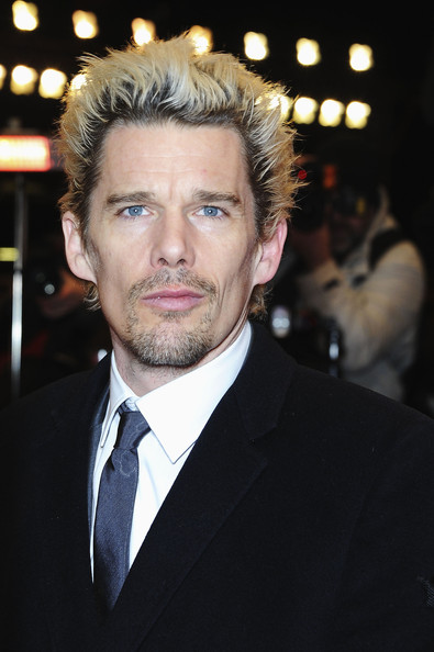 More Pics of Ethan Hawke Spiked Hair (8 of 12) - Ethan Hawke Lookbook - StyleBistro