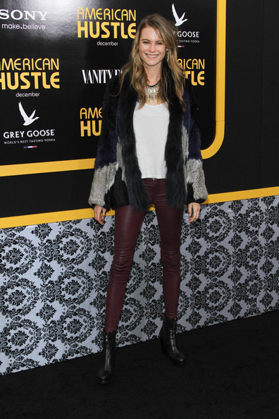 Behati Prinsloo Leather Pants