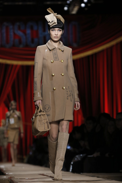 Bella Hadid Wool Coat
