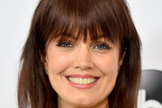 Bellamy Young Medium Straight Cut with Bangs
