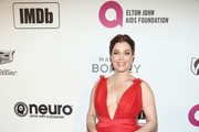 Bellamy Young Metallic Clutch