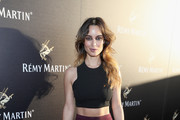 Berenice Marlohe Crop Top