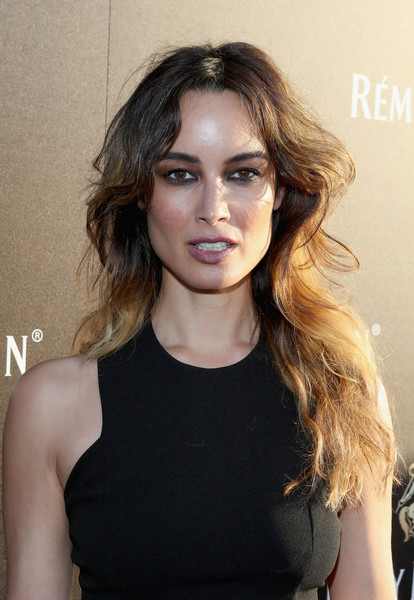 Berenice Marlohe Long Wavy Cut