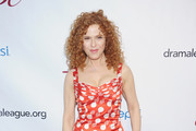 Bernadette Peters Print Dress