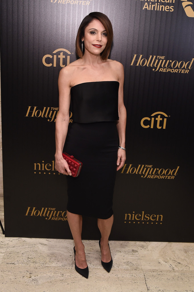 Bethenny Frankel Donned A Simple Yet Sophisticated Strapless Lbd For The Hollywood Reporter S 35 Most Ful Dress