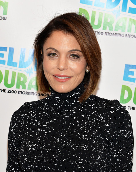 Bethenny Frankel Graduated Bob [the elvis duran z100 morning show,hair,hairstyle,lip,long hair,brown hair,premiere,hair coloring,magazine,black hair,smile,bethenny frankel,tv personality,exclusive coverage,new york city,z100 studio]