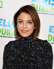 Bethenny Frankel looked stylish and trendy with her graduated bob at the 'Elvis Duran Z100 Morning Show.'