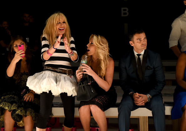 Betsey Johnson - Front Row - Mercedes-Benz Fashion Week Spring 2015