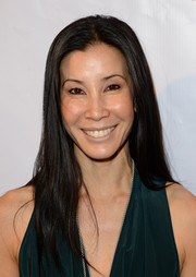 Lisa Ling stuck to her usual long straight hairstyle when she attended the Experience: East Meets West event.
