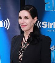 Jill Kargman pulled her hair back into a low ponytail with curly ends for the anniversary of Andy Cohen's SiriusXM channel.