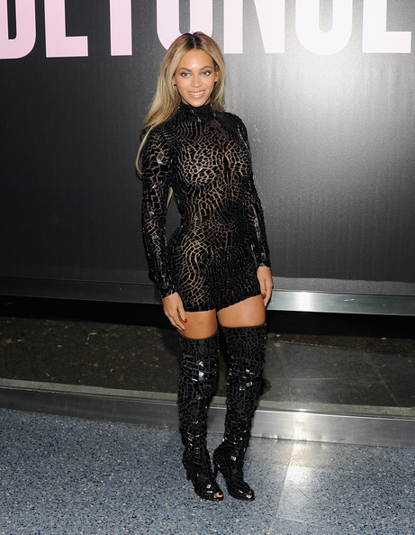 Beyonce Knowles Shoes