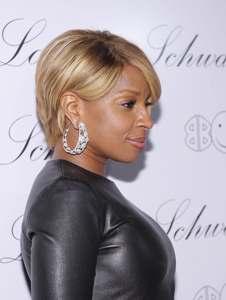 More Pics Of Mary J Blige Bob 10 Of 18 Short Hairstyles