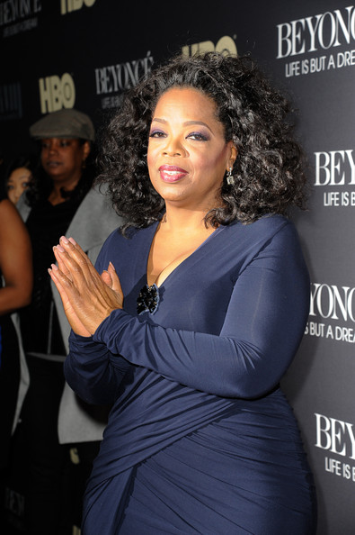 More Pics of Oprah Winfrey Medium Curls (5 of 8) - Shoulder Length Hairstyles Lookbook - StyleBistro