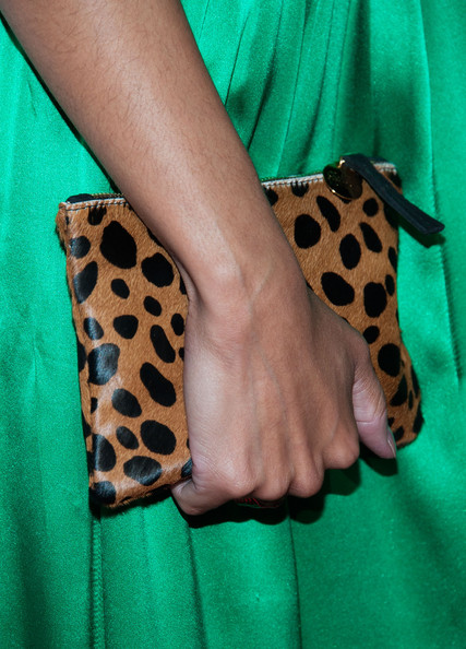 Bianca Lawson Printed Clutch