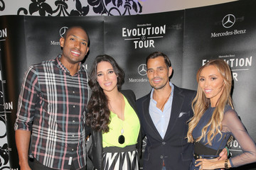 Bill Rancic Giuliana Rancic Guests Attend the Mercedes-Benz 2015 Evolution Tour in Los Angeles