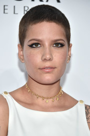 Halsey rocked this buzzcut at the Billboard Women in Music 2016.