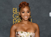 Anika Noni Rose looked cute and cool with her curly mohawk during Black Girls Rock! 2017.