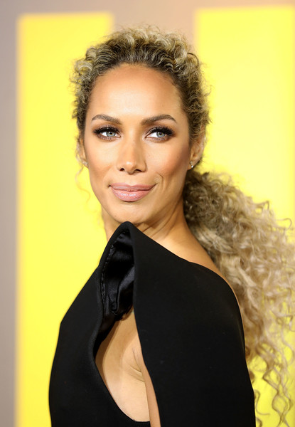 More Pics of Leona Lewis Ponytail (1 of 8) - Long Hairstyles Lookbook - StyleBistro [european premiere of black panther,hair,face,hairstyle,eyebrow,beauty,lip,yellow,lady,black hair,skin,red carpet arrivals,black panther,leona lewis,european,england,london,eventim apollo,premiere]