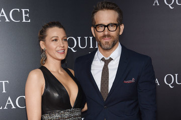 Blake Lively Ryan Reynolds 'A Quiet Place' New York Premiere