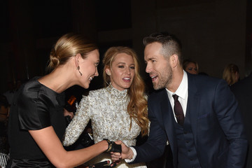 Blake Lively Ryan Reynolds Moet & Chandon Toasts to the amfAR Gala at Cipriani Wall Street