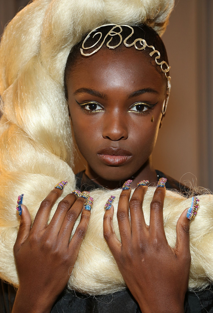 The Blonds Best Beauty From New York Fashion Week Spring 2015 Stylebistro