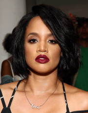 Dascha Polanco wore her hair in a classic bob when she attended the Blonds fashion show.