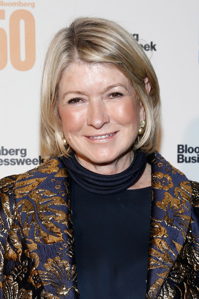 Martha Stewart went for a casual bob at the Bloomberg 50 celebration.