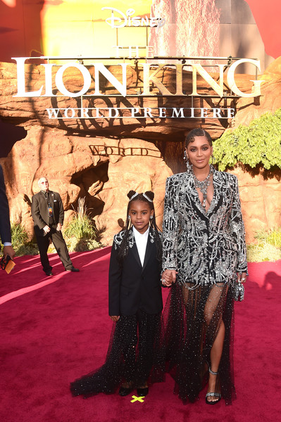 Blue Ivy Carter Skirt Suit [the lion king,red carpet,carpet,premiere,flooring,fashion,event,beyonce knowles-carter,blue ivy carter,dolby theatre,california,hollywood,world premiere of disney,l,world premiere]
