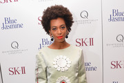 Solange Knowles attends the 'Blue Jasmine' New York Premiere at MOMA on July 22, 2013 in New York City.