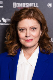 Susan Sarandon looked sweet and lovely with her face-framing curls at the special screening of 'Bombshell: The Hedy Lamarr Story.'