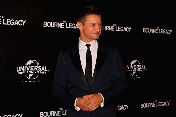 More Pics of Jeremy Renner Suede Loafers (1 of 14) - Suede Loafers Lookbook - StyleBistro