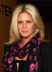 Rachel Hunter attended a screening of 'Boy' wearing her hair in tousled layers.