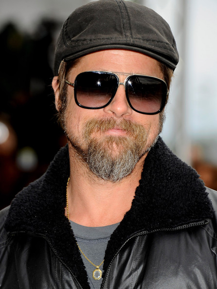 Brad Pitt Aviator Sunglasses