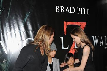Brad Pitt Maddox Jolie-pitt World War Z - World Premiere - Inside Arrivals
