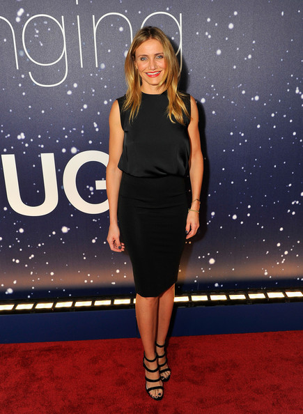 Cameron Diaz opted for a no-frills Victoria Beckham LBD when she attended the Breakthrough Prize Awards.