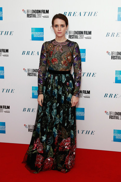 More Pics of Claire Foy Beaded Dress (12 of 39) - Claire Foy Lookbook - StyleBistro
