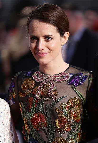More Pics of Claire Foy Beaded Dress (10 of 39) - Claire Foy Lookbook - StyleBistro