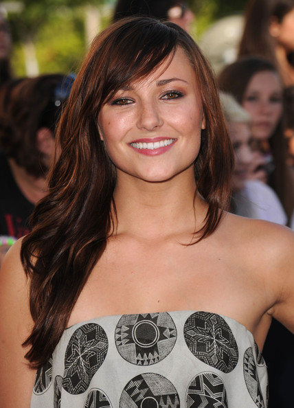 Briana Evigan Long Straight Cut
