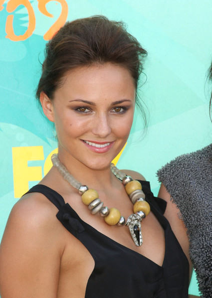 Briana Evigan Silver Statement Necklace