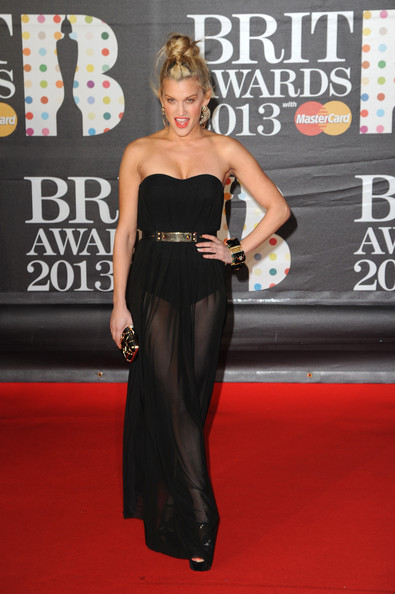 Ashley Roberts in Sheer Black